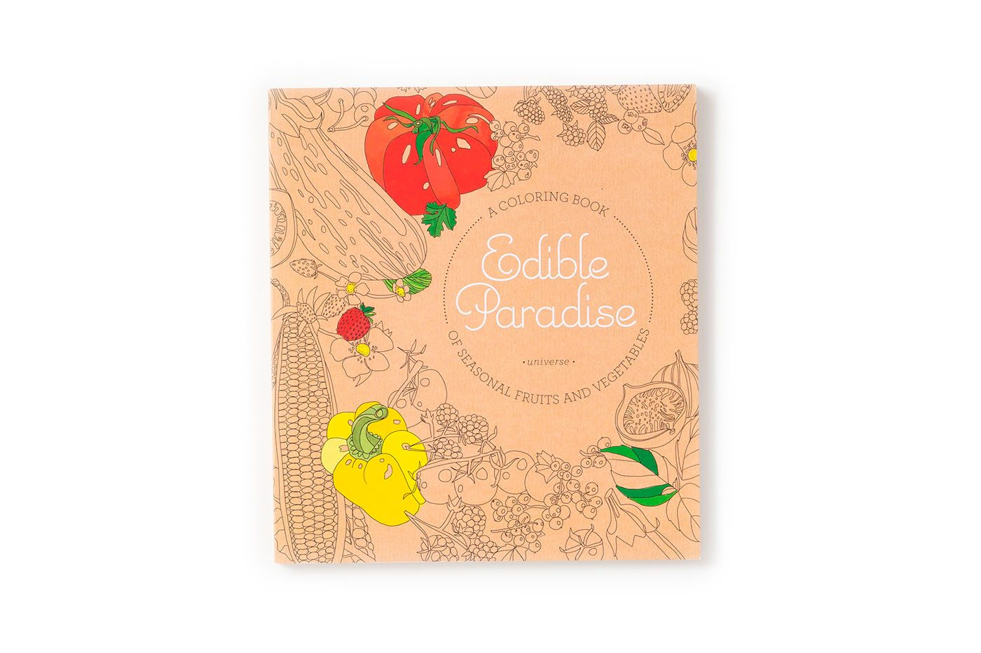 Edible Paradise: A Coloring Book of Seasonal Fruits and Vegetables (Rizzoli)